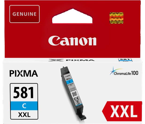 Canon CLI-581C XXL Cyan 830 str. - 381905 - zdjęcie