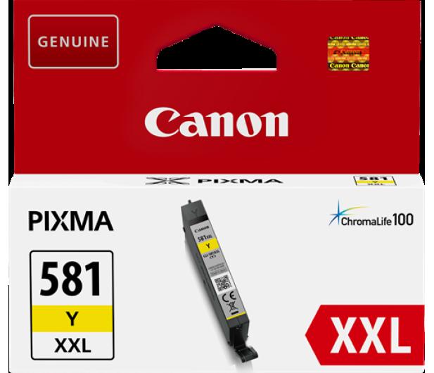 Canon CLI-581Y XXL Yellow 830 str. - 381908 - zdjęcie