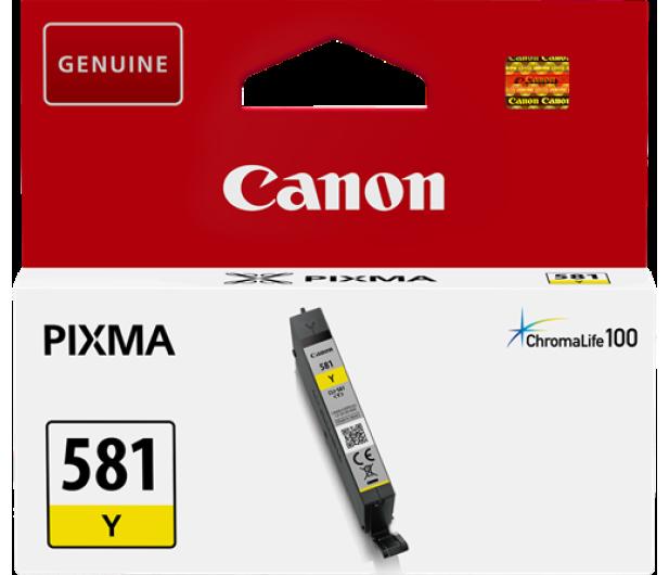 Canon CLI-581Y Yellow 259 str. - 381744 - zdjęcie