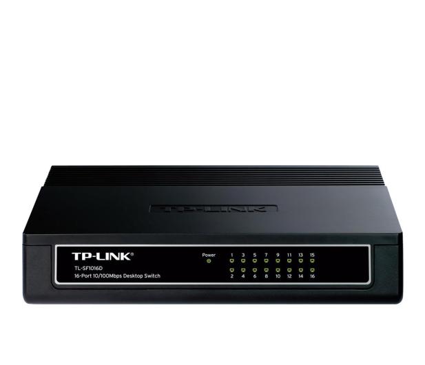 TP-Link 16p TL-SF1016D (16x10/100Mbit) - 26797 - zdjęcie