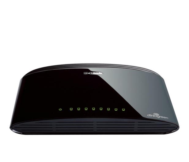 D-Link  8p DES-1008D (8x10/100Mbit) - 7538 - zdjęcie