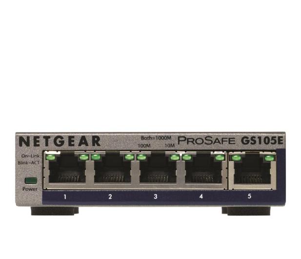 Netgear 5p GS105E (5x100/1000Mbit) - 237955 - zdjęcie