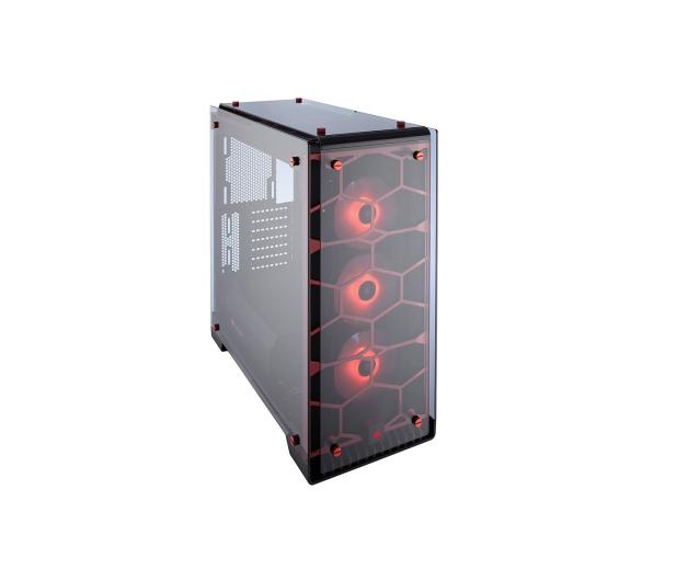 Corsair Crystal Series 570X Red RGB Tempered Glass  - 382135 - zdjęcie