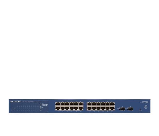 Netgear 26p GS724T (24x10/100/1000Mbit 2xSFP) - 180826 - zdjęcie