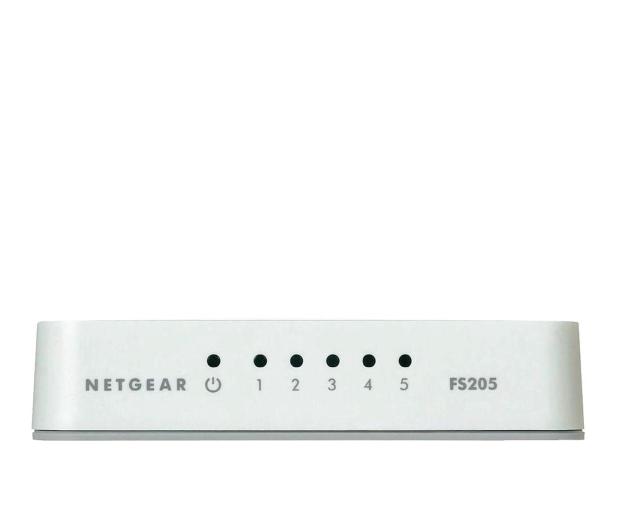 Netgear 5p FS205-100PES (5x10/100Mbit) - 126960 - zdjęcie