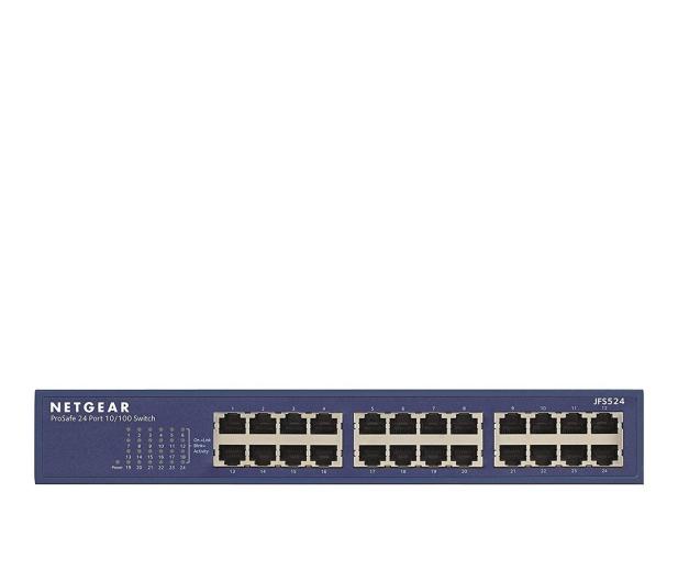 Netgear 24p JFS524-200EUS (24x10/100Mbit) - 202103 - zdjęcie