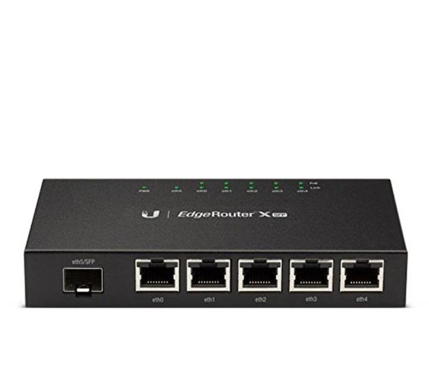 Ubiquiti EdgeRouter X-SFP 5x10/100/1000Mb/s 1xSFP PoE - 266624 - zdjęcie