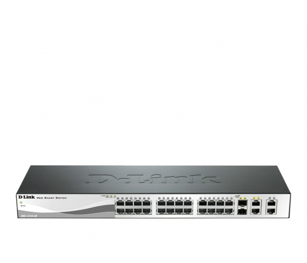 D-Link 28p DES-1210-28 (24x10/100Mbit 2x1000Mbit 2xSFP) - 46439 - zdjęcie