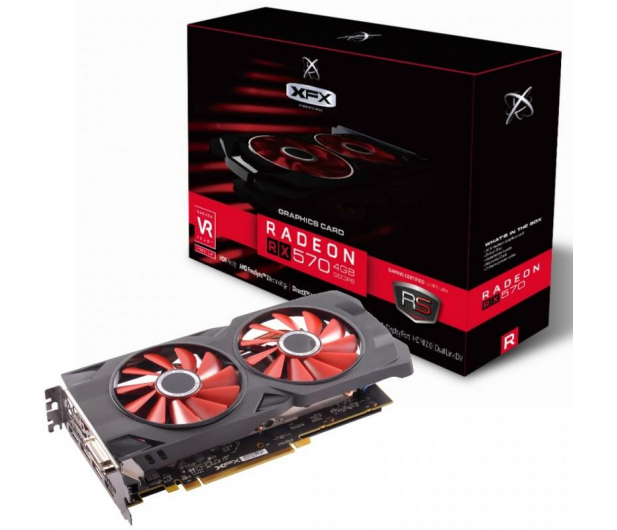 XFX Radeon RX 570 RS Black 4GB GDDR5 - 380762 - zdjęcie