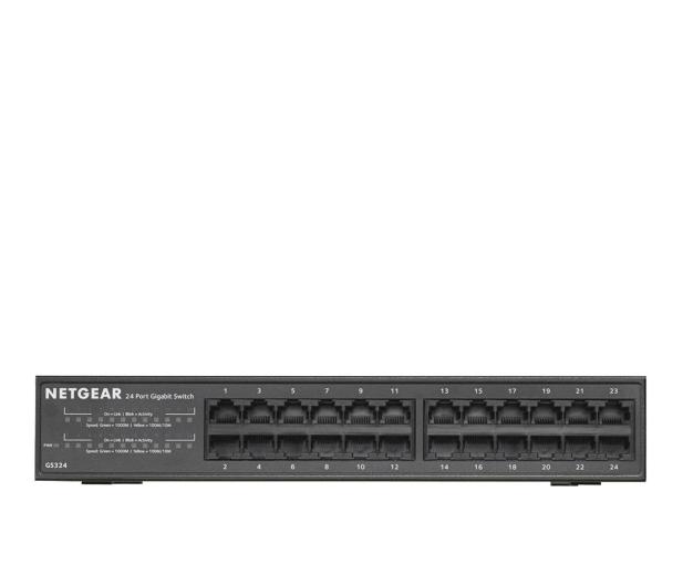 Netgear 24p GS324-100EUS (24x10/100/1000Mbit) - 287227 - zdjęcie