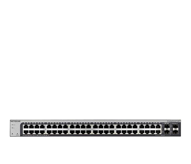 Netgear 52p GS748T-500EUS (48x10/100/1000Mbit 2xSFP,Combo) - 175461 - zdjęcie