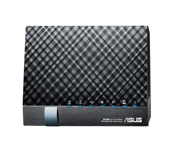 ASUS DSL-AC56U (1200Mb/s a/b/g/n/ac Aneks A/B, 2xUSB) - 265485 - zdjęcie