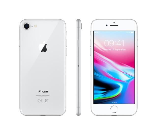 Apple iPhone 8 64GB Silver - 382278 - zdjęcie