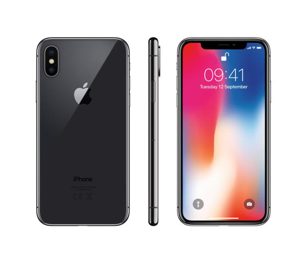 Apple iPhone X 256GB Space Gray - 395950 - zdjęcie