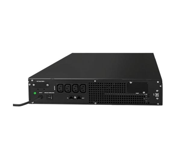 Qoltec Rack (1000VA/800W, 4x IEC, RS232, RJ-45) - 382405 - zdjęcie 3