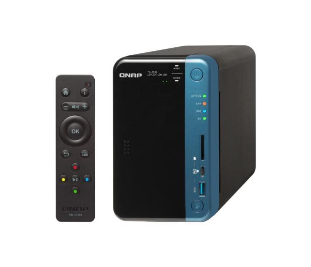 QNAP TS-253B-8G (2xHDD, 4x1.5-2.3GHz, 8GB, 5xUSB,2xLAN) - 359972 - zdjęcie