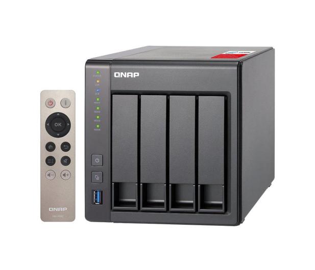 QNAP TS-451+-8G (4xHDD, 4x2-2.42GHz, 8GB, 4xUSB, 2xLAN) - 289945 - zdjęcie