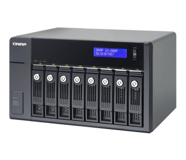 QNAP UX-800P Moduł rozszerzający (8xHDD, USB 3.0) - 367044 - zdjęcie 1