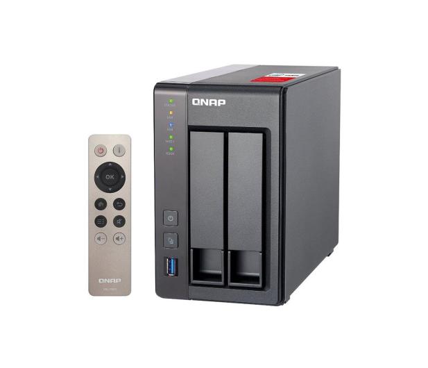 QNAP TS-251+-8G (2xHDD, 4x2-2.42GHz, 8GB, 4xUSB, 2xLAN) - 296106 - zdjęcie