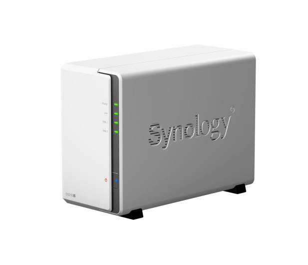 Synology DS216j (2xHDD, 2x1GHz, 512MB, 2xUSB, 1xLAN) - 297064 - zdjęcie