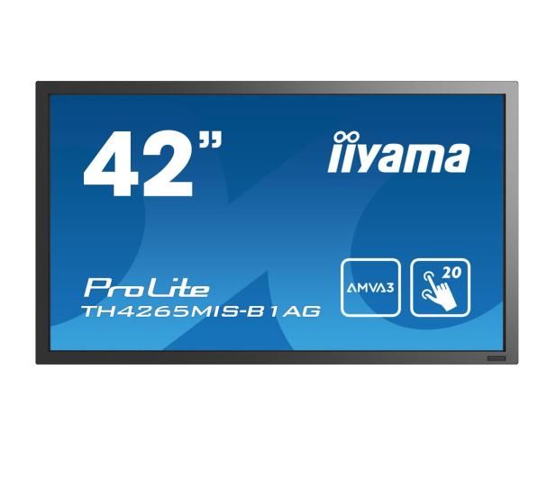 iiyama TH4265MIS LFD dotykowy  - 380494 - zdjęcie