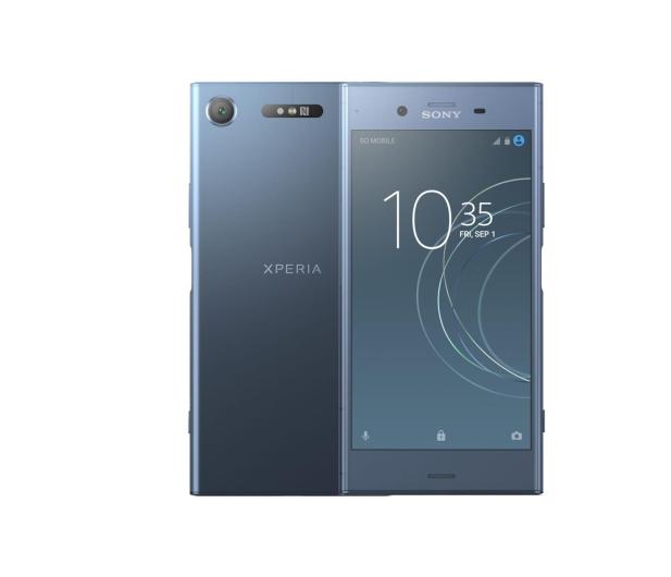 Sony Xperia XZ1 G8341 Moonlite Blue - 394588 - zdjęcie