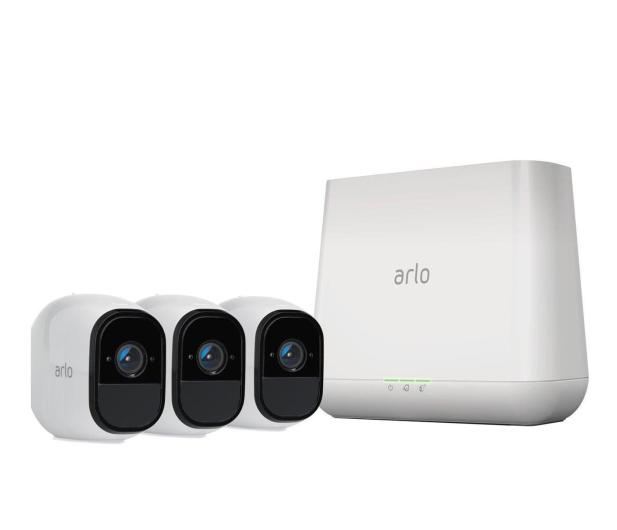 Netgear Arlo PRO WiFi HD IR (3szt. + stacja alarm.) - 361193 - zdjęcie
