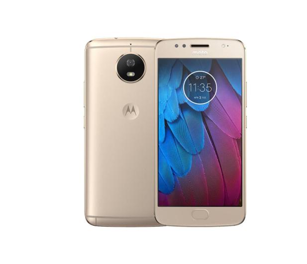 Motorola Moto G5S FHD 3/32GB Dual SIM złoty - 383387 - zdjęcie