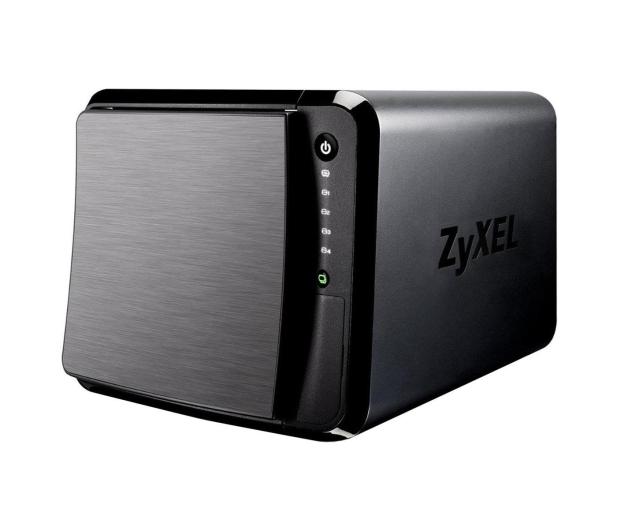 Zyxel NAS542 (4xHDD, 2x1.2GHz, 1GB, 3xUSB, 2xLAN, SD) - 308108 - zdjęcie