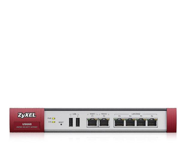 Zyxel USG60 (4x100/1000Mbit 2xWAN) - 359176 - zdjęcie
