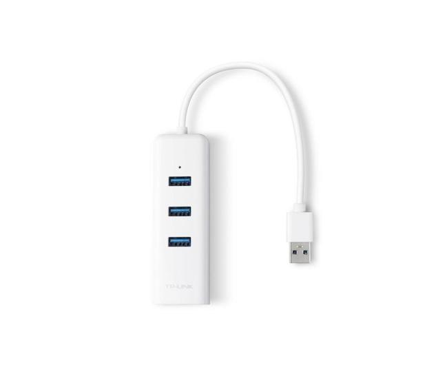 TP-Link UE330 (10/100/1000Mbit) Gigabit + HUB 3x USB 3.0 - 358358 - zdjęcie