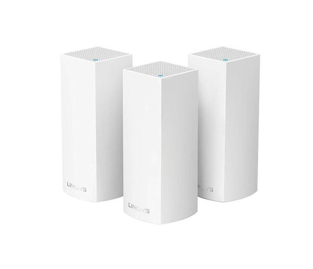 Linksys Velop Mesh WiFi (2200Mb/s a/b/g/n/ac) zestaw 3szt. - 344854 - zdjęcie