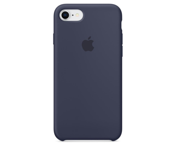 Apple Silicone Case do iPhone 7/8 Midnight Blue - 384322 - zdjęcie