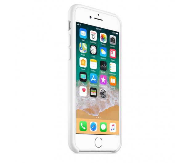 Apple Silicone Case do iPhone 7/8 White - 384325 - zdjęcie 3