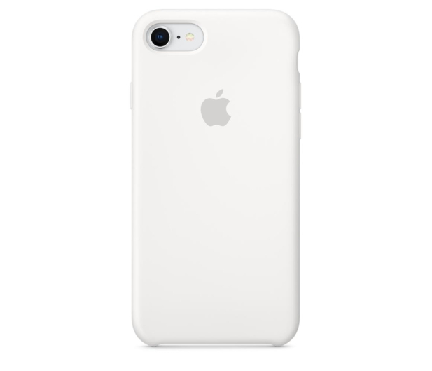 Apple Silicone Case do iPhone 7/8 White - 384325 - zdjęcie