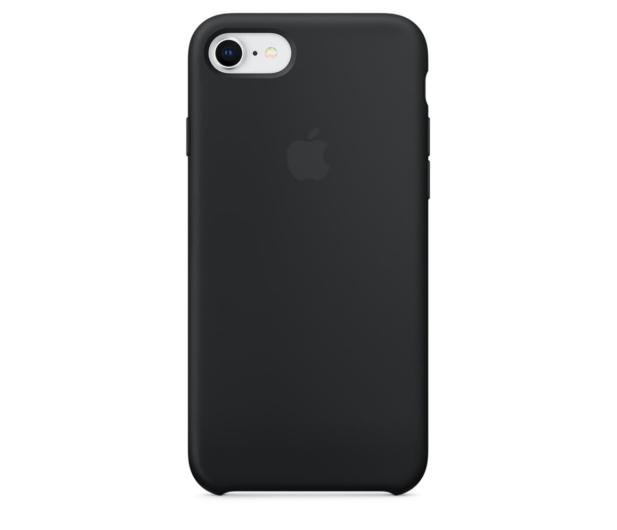 Apple Silicone Case do iPhone 7/8 Black - 384327 - zdjęcie