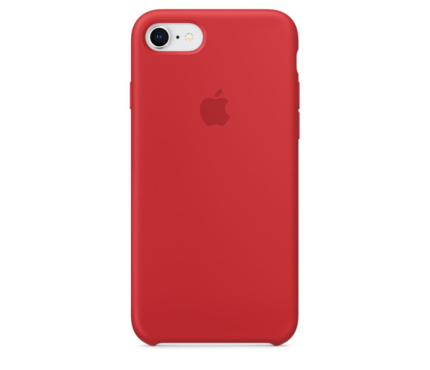 Apple Silicone Case do iPhone 7/8 (PRODUCT) RED - 384329 - zdjęcie