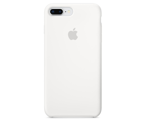Apple Silicone Case do iPhone 7/8 Plus White - 384338 - zdjęcie