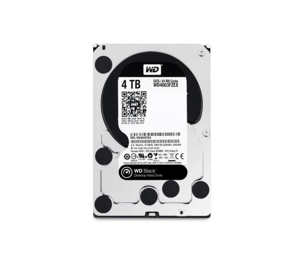 WD 4TB 7200obr. 64MB BLACK - 159702 - zdjęcie