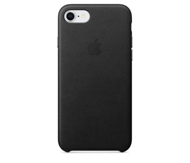 Apple Leather Case do iPhone 7/8 Black - 384317 - zdjęcie