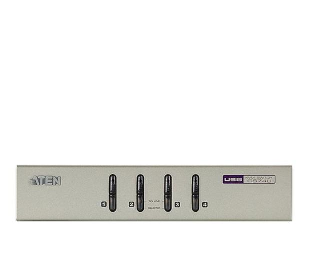 ATEN CS74U-A7 USB + VGA + audio (4 komputery) - 29884 - zdjęcie