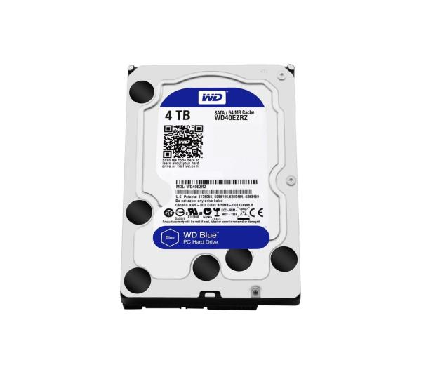 WD 4TB 5400obr. 64MB BLUE - 254256 - zdjęcie