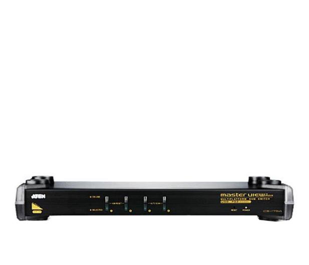 ATEN CS1754Q9-AT-G RACK USB + VGA (4 komputery) - 29853 - zdjęcie