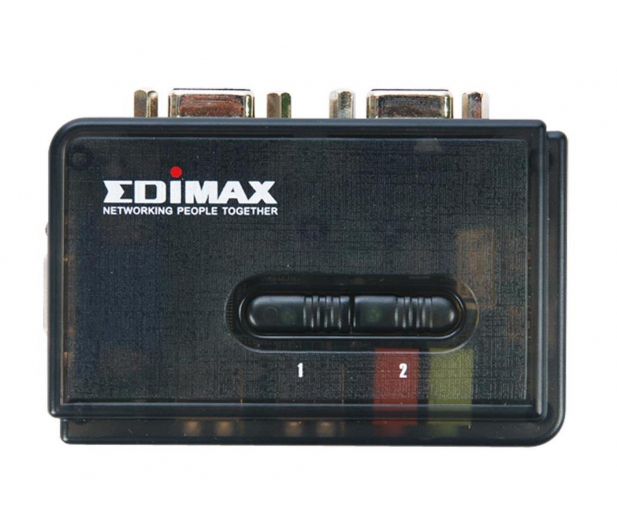Edimax EK-UAK2 USB + VGA + audio (2 komputery) 1,8m - 29829 - zdjęcie