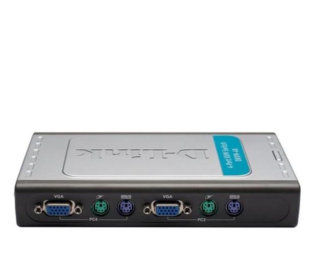 D-Link DKVM-4K PS/2 + VGA (4 komputery) 1,8m  - 29818 - zdjęcie