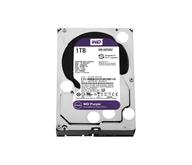 WD 1TB IntelliPower 64MB PURPLE - 367205 - zdjęcie 1