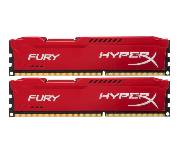 HyperX 8GB (2x4GB) 1866MHz CL10 Fury Red  - 180546 - zdjęcie