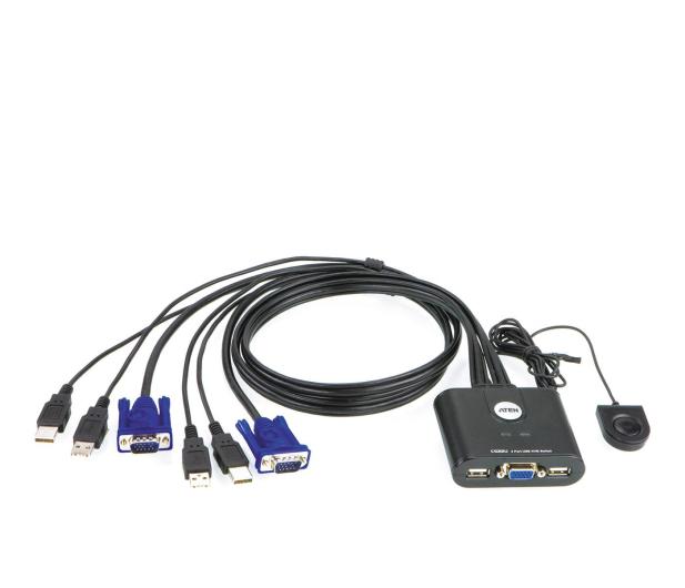 ATEN CS22U-A7 USB + VGA (2 komputery) 0,9m - 46598 - zdjęcie