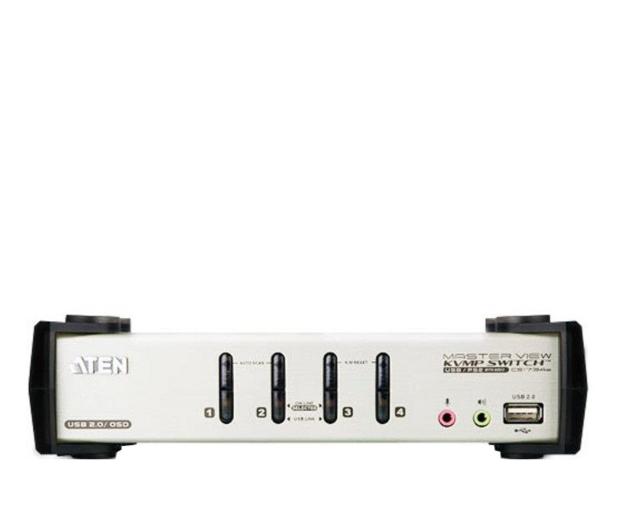 ATEN CS1734B-A7-G USB + VGA (4 komputery) - 56235 - zdjęcie