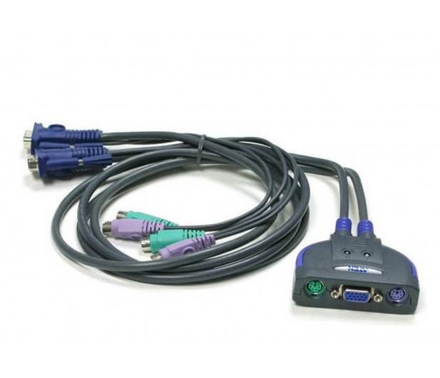 ATEN CS62S-AT PS/2 + VGA (2 komputery) 0,9m - 56231 - zdjęcie